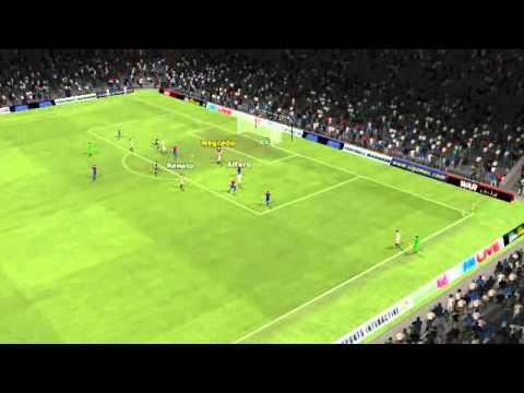Sevilla vs CSKA Mosca - Alfaro Goal 40 minutes