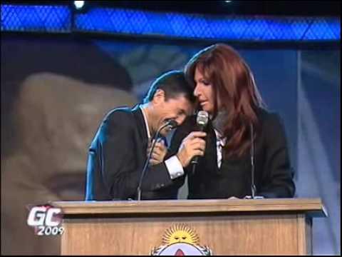 Nuevo discurso de Cristina en gran cu ñado