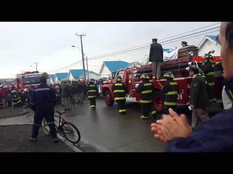 Funerales de Marcelo'Papo' alvarado saldivia