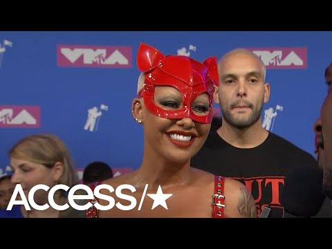 2018 MTV VMAs: Amber Rose Explains Her Wild Outfit & Fangirls Over Madonna   Access