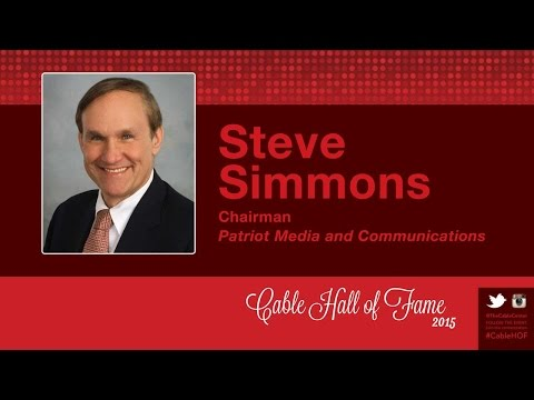 2015 Cable Hall of Fame - Steve Simmons