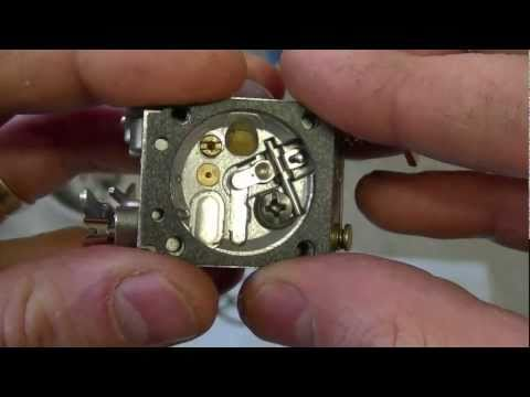 HOW TO - Carburetor & Fuel Line Repair on STIHL 017, MS170, 018, M180 Chainsaw Part 2/3