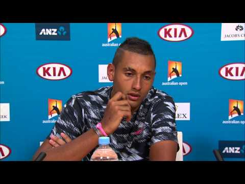 Nick Kyrgios press conference (QF) - Australian Open 2015