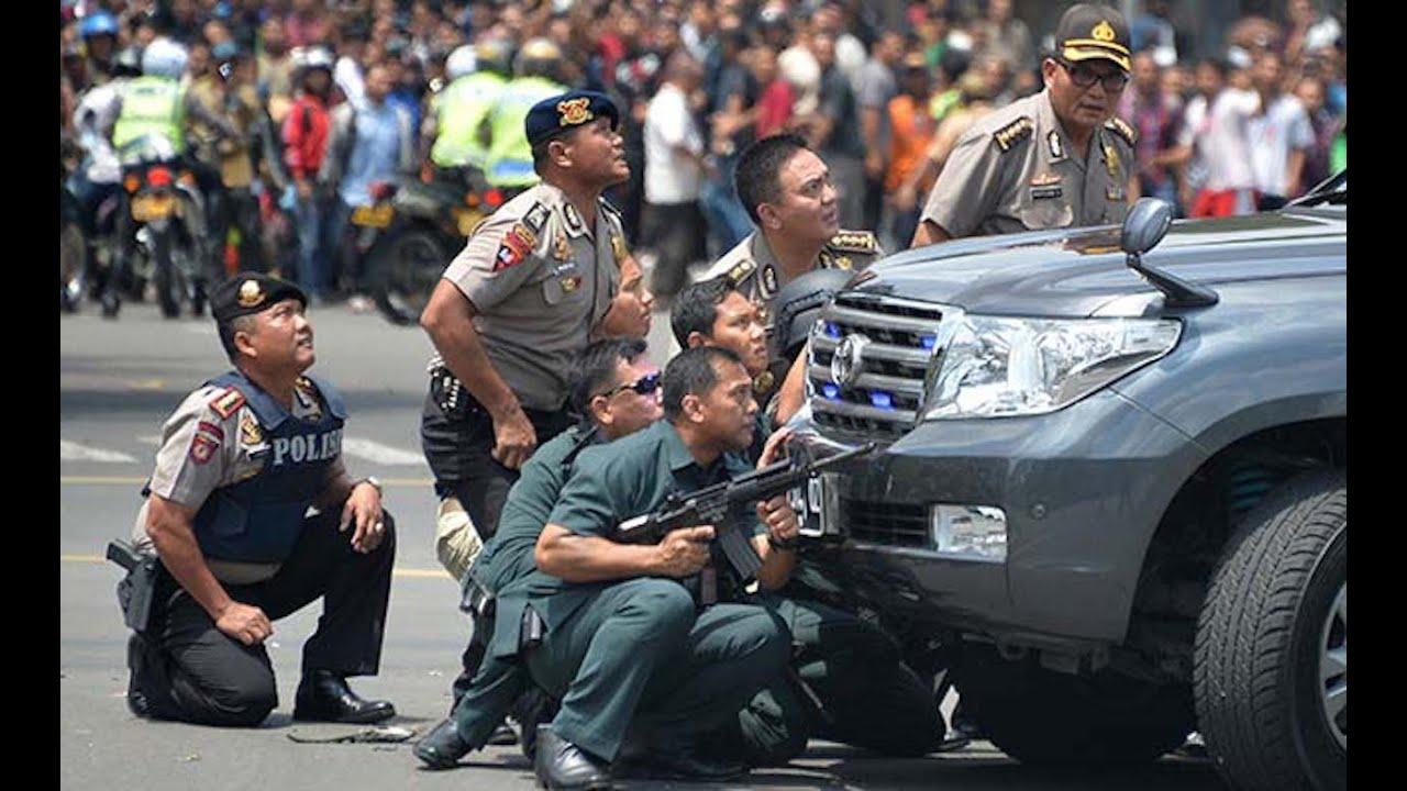 ISIS Attacks Jakarta, Indonesia