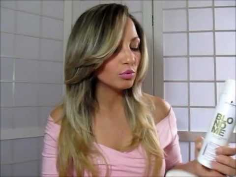 Resenha Linha Blond Me cabelos loiros