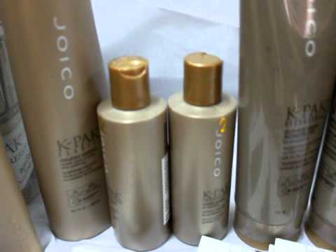 Joico k-pak hair repair system.MOV
