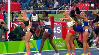سيدات أميركا بطلات لسباق التتابع 4 في 400 م