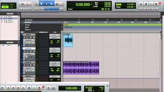 Protools HD para iniciantes gravando baixo, guitarra e loop de bateria