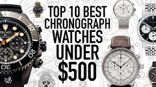 Top 10 Best Value Chronograph Watches Under $500 - Seiko, Citizen, Bulova, Dan Henry, UNDONE & More
