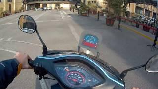 Thi bằng lái xe máy A1 - Thi thực hành