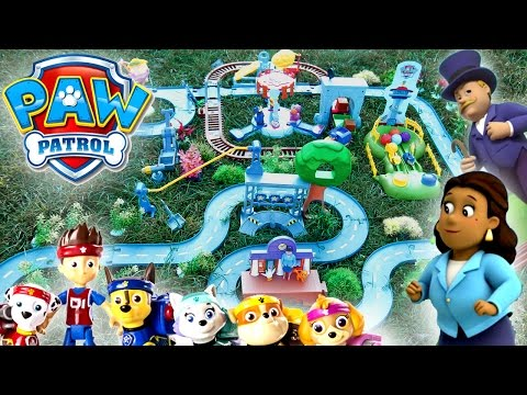 Щенячий Патруль на русском - Щенки на Аттракционах. Paw Patrol -  All Stars Pups Action Pack.