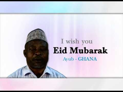 Eid-ul-Fitr: Eid Messages (Ghana)