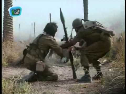 Iran & Iraq War, Iranian troops attacked by helicopters (Operation Beit ol-Moqaddas)