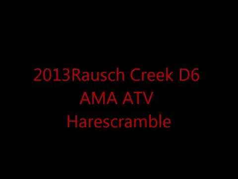 Rausch Creek 2013 D6 AMA ATV Harescramble Part1