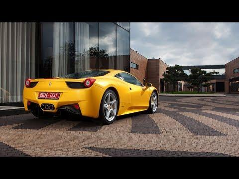 Обзор Ferrari 458 Italia часть 1