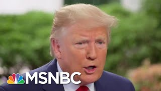 The Secret To Debunking President Donald Trump's Bluffs | The Beat With Ari Melber | MSNBC