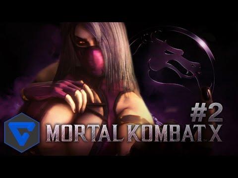 MORTAL KOMBAT X #2 : LA EMBOSCADA DE MILEENA A KOTAL KAHN ! PELEAS EPICAS   1080 HD PS4 GAMEPLAY