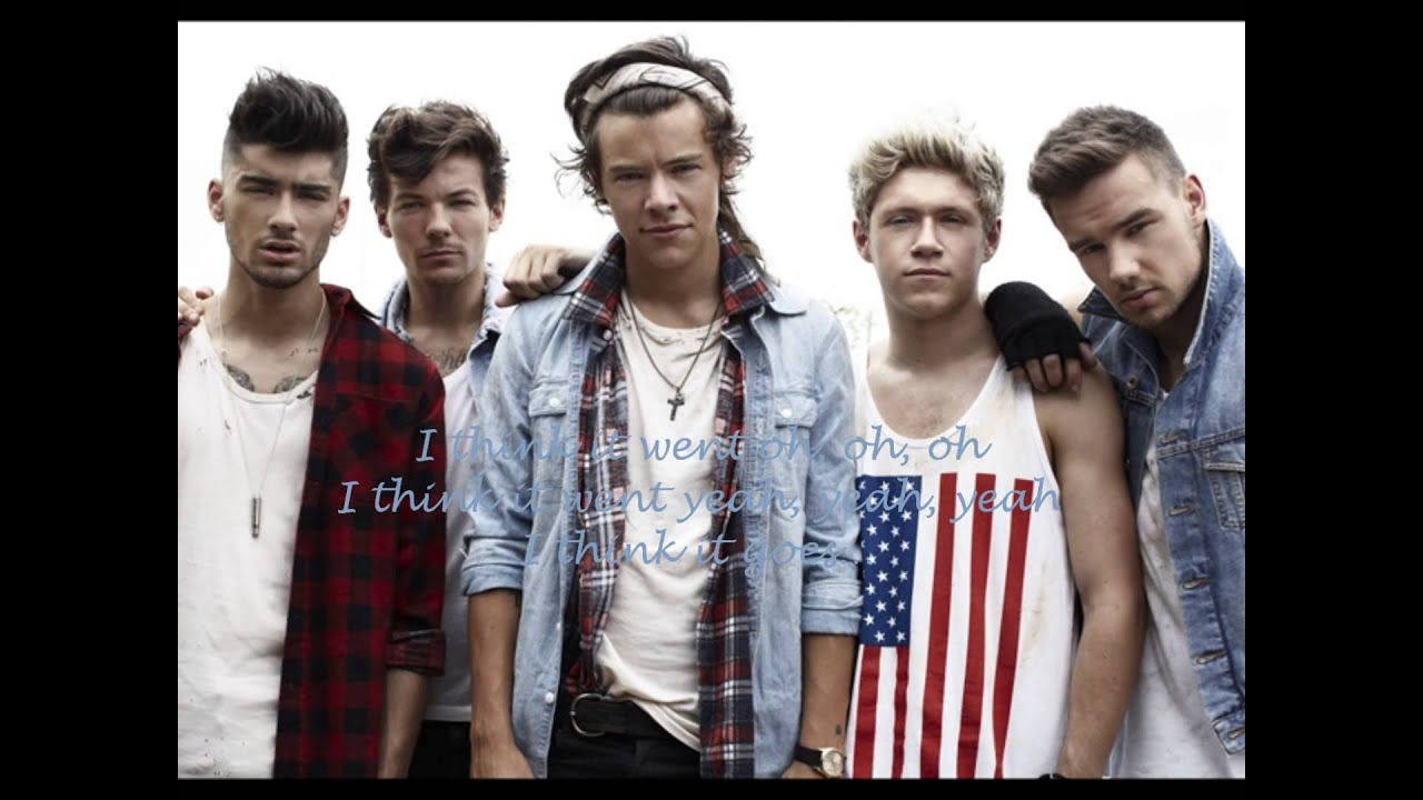 One Direction Songs Lyrics Best Song Ever Best Song Ever-one Direction