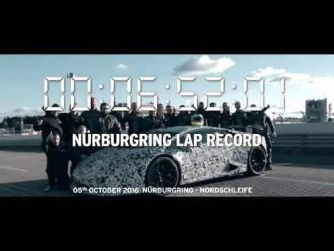 Lamborghini Huracan Performante Nurburgring Lap Record