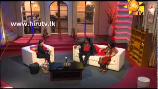 Hiru TV - Show Time With Niro EP 11 - Jayasekara Aponsu & Sanoja Bibile | 2015-03-29