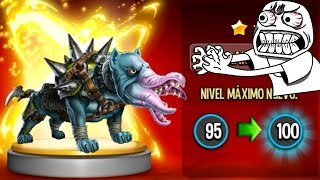 Monster Legends - Monter Lab - Rexx - Level 100 + Combat