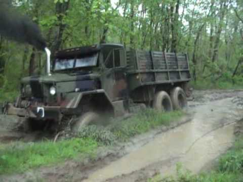 M35A2 deuce in mud