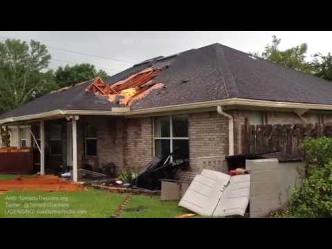 Tropical Storm Colin - Jacksonville, FL Tornado Damage 6/6/16