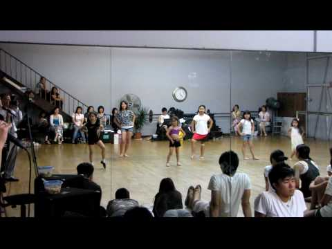 Miss Preteen Taiwan and Miss Jr Taiwan Dance Practice