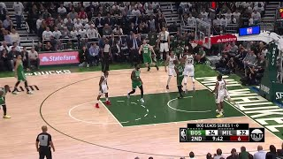 2nd Quarter, One Box Video: Milwaukee Bucks vs. Boston Celtics