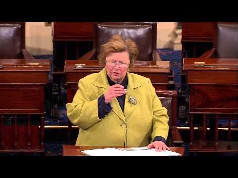 Mikulski Speaks on Senate Floor on Resolution Condemning Abduction of Girls in Nigeria by Boko Haram