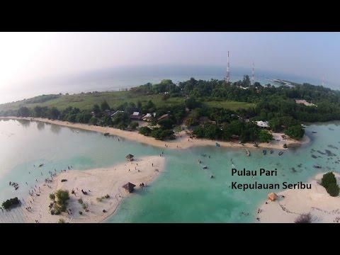 [AERIAL VIDEO] Pulau Pari, Kepulauan seribu