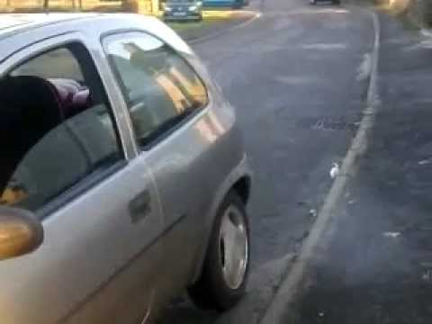 chav trys to wheel spin FAIL!