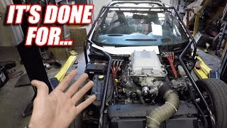 Turbocharging Leroy Ep.1 - Ditching the Stock Engine (and supercharger)