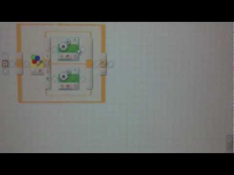 """""""Lego Mindstorms NXT 2.0"""" Ездящий по чёрной линии"""