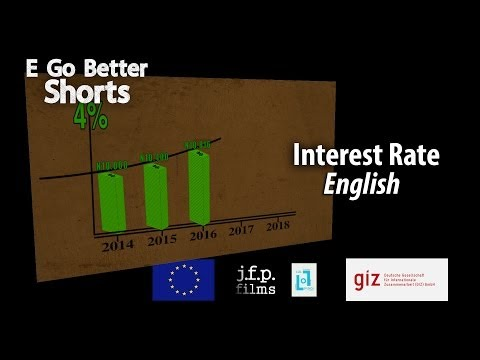 E Go Better SHORTS: Interest Rate (English) / Microfinance Education Nigeria