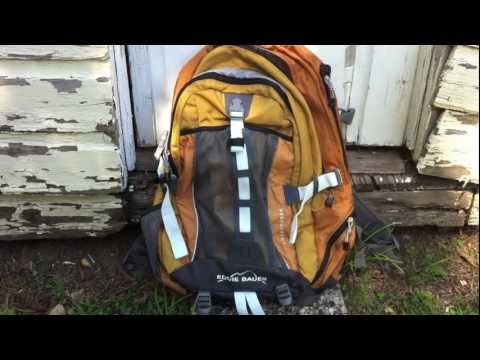 Eddie Bauer Adventurer Laptop Back Pack Review