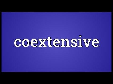 Header of coextensive