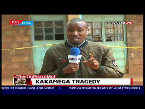 14 children that died following a stampede in Kakamega to be buried in mass grave