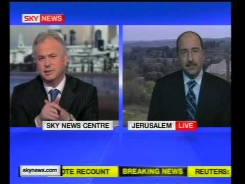 Dore Gold on Sky News: Housing in Jerusalem and the U.S.-Israel Relationship