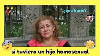 Reacción de niños ante personas homosexuales