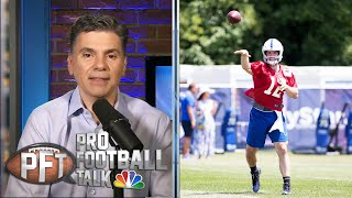 Colts' Andrew Luck is dealing with a 'small little bone' issue | Pro Football Talk | NBC Sports