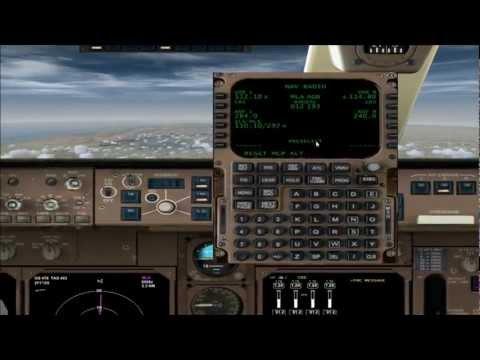 Boeing 747 PMDG tutorial en español configuracion FMC programar STAR