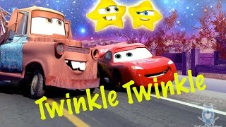 Funny McQueen 🚗 and Mater Toys from CARS Sing Twinkle Twinkle Little Star | Kids Nursery Rhymes