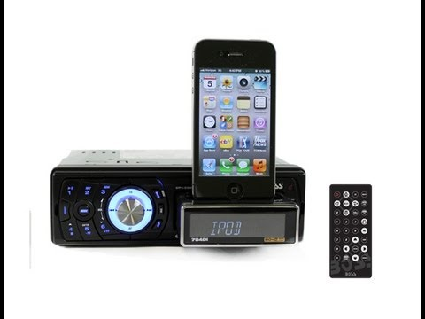 iPod Car Docking Station | BOSS 754DI