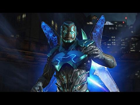 Injustice 2 - ONLINE BETA Gameplay - BLUE BEETLE GAMEPLAY - (Xbox One)