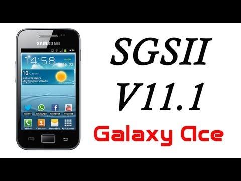 ROM SGS2 V11.1 JB para el Galaxy Ace
