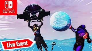 🔴 LIVE EVENT durch Eiskugel in Polar Peak | Fortnite Nintendo Switch Deutsch