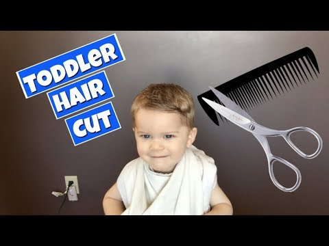 How To Cut Toddler Boy Hair - Part 2