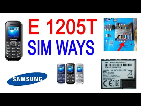 Samsung GT E1205T Second Unboxing Review