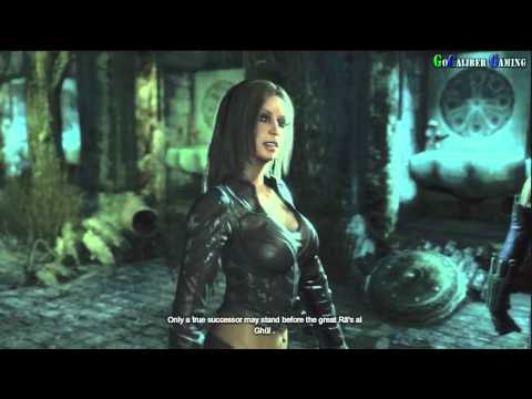 BATMAN: Arkham City - Walkthrough Part 32 - Talia al Ghul and Batman cutscene